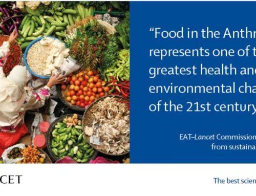 EAT-Lancet: Informe de alimentos en el Antropoceno